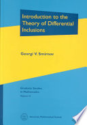 Introduction to the Theory of Differential Inclusions