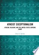 Atheist Exceptionalism Book PDF