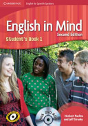 English in Mind for Spanish Speakers Level 1 Student s Book with DVD ROM