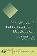 Innovations in Public Leadership Development