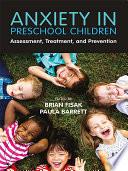 Anxiety in Preschool Children