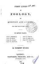 First lines of zoology