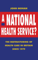 A National Health Service?