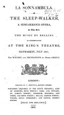 Norma. A tragic opera, in two acts [by F. Romani] ... as performed ... at the King's Theatre, Haymarket, etc. Ital. & Eng. MS. note