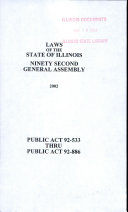 Laws of the State of Illinois