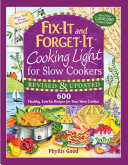 Fix-It and Forget-It Cooking Light for Slow Cookers Pdf/ePub eBook