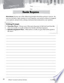 Bud  Not Buddy Reader Response Writing Prompts Book