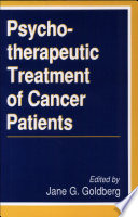 The Psychotherapeutic Treatment of Cancer Patients