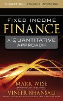Fixed Income Finance  A Quantitative Approach
