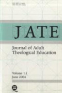 Journal of Adult Theological Education