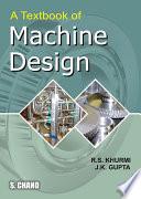 A Textbook Of Machine Design