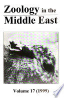 Zoology in the Middle East