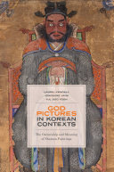 Pdf God Pictures in Korean Contexts
