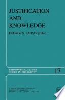Justification and Knowledge Pdf/ePub eBook