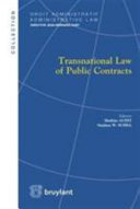 Transnationalization of Public Contracts