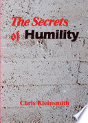 The Secrets of Humility Book