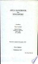 Area Handbook for Singapore