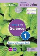 Books - Checkpoint Science Teachers Resource Book 1 | ISBN 9781444143805