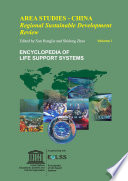 Area Studies (Regional Sustainable Development Review): China - Volume I