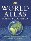 Random House World Atlas and Encyclopedia Book