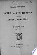 Allgemeine Bibliographie der Militair-Wissenschaften