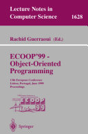 ECOOP  99   Object Oriented Programming