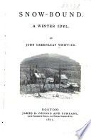 Snow Bound Book PDF