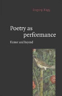 Poetry as Performance
