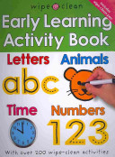 Wipe Clean Early Learning Activity Book Book