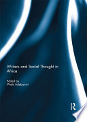 Writers And Social Thought In Africa Book