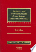 Architect and Engineer Liability