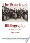The Brass Band Bibliography