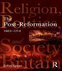 The Post-Reformation Pdf/ePub eBook