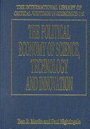 The Political Economy Of Science Technology And Innovation Book PDF