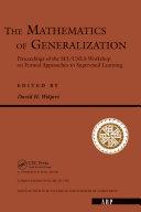 The Mathematics Of Generalization