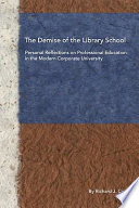 The Demise of the Library School Book