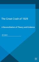 The Great Crash of 1929 Pdf/ePub eBook