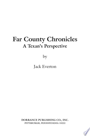 Free Download Far County Chronicles PDF - Writers Club