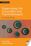 Supervising the Counsellor and Psychotherapist