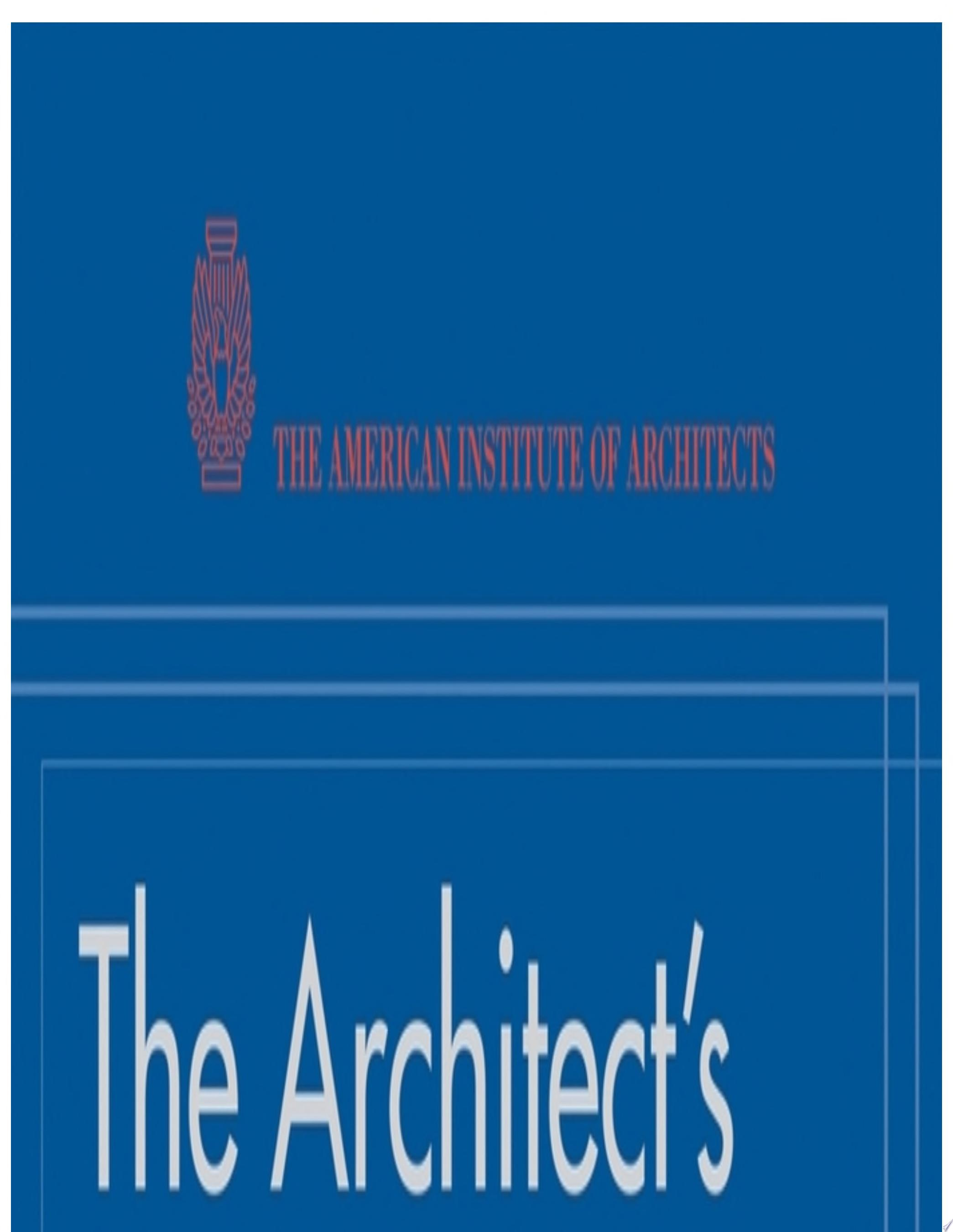 The Architect s Handbook of Professional Practice