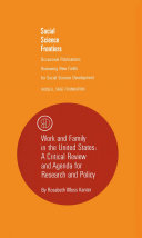 Work and Family in the United States Pdf/ePub eBook