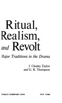 Ritual  Realism  and Revolt Book
