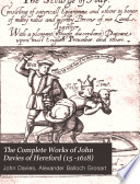 The Complete Works of John Davies of Hereford  15  1618