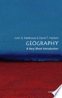 Geography A Very Short Introduction
