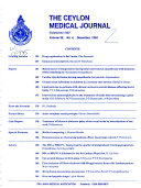 Ceylon Medical Journal