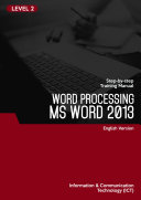 Microsoft Word 2013 Level 2  English version