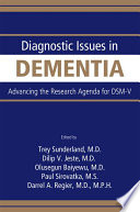 Diagnostic Issues in Dementia