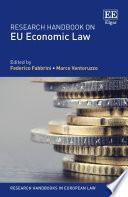 Research Handbook on EU Economic Law Book