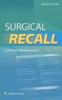 Surgical Recall 9e  us Ed