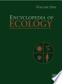 Encyclopedia of Ecology Book